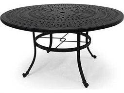 84'' x 48'' Oval Cast Aluminum Dining Table