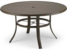 48'' Aluminum Round Dining Table