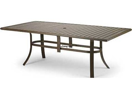 Winston Aluminum 85 x 42 Rectangular Dining Table