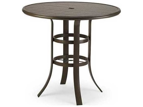 Winston Aluminum 42 Round Bar Table