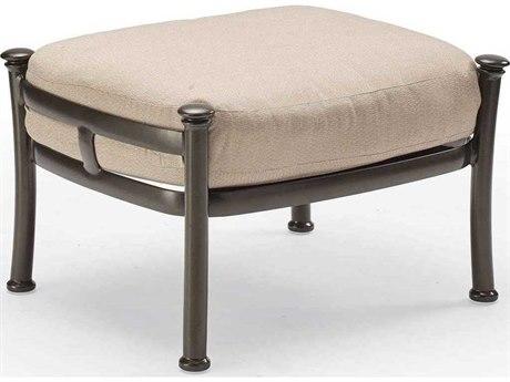 Winston Catania Cushion Aluminum Ottoman