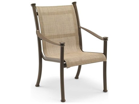 Winston Catania Sling Aluminum High Back Dining Chair