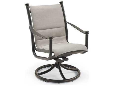 Winston Catania Padded Sling Aluminum High Back Swivel Tilt Chair
