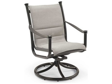 Winston Catania Padded Sling Aluminum High Back Swivel Tilt Chair