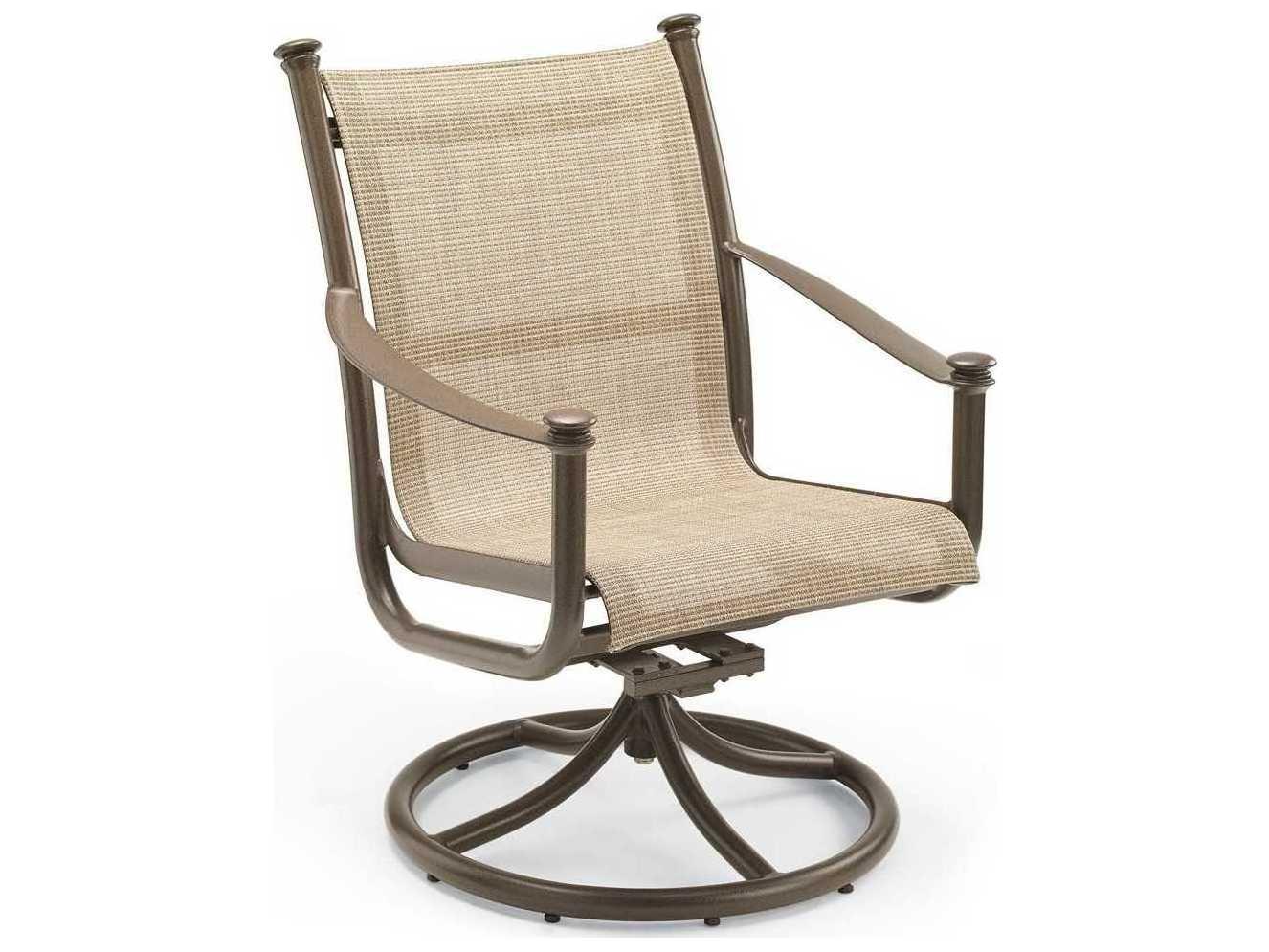 Winston Catania Sling Aluminum High Back Swivel Tilt Chair