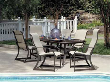 Winston Key West Sling Aluminum Dining Set