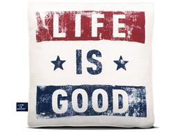 Life Is Good Toss Pillows - Quick Ship