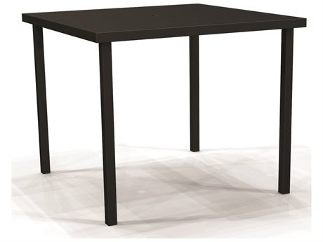 Winston Solid Top Aluminum 44'' Wide Square Bar Table