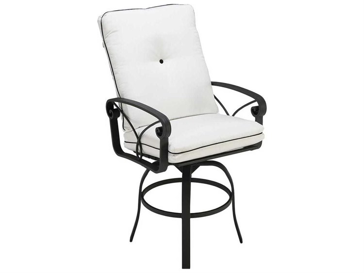 Winston Palazzo Sling Cast Aluminum Arm Chaise Lounge: Winston Palazzo Cushion Cast Aluminum Swivel Bar Stool