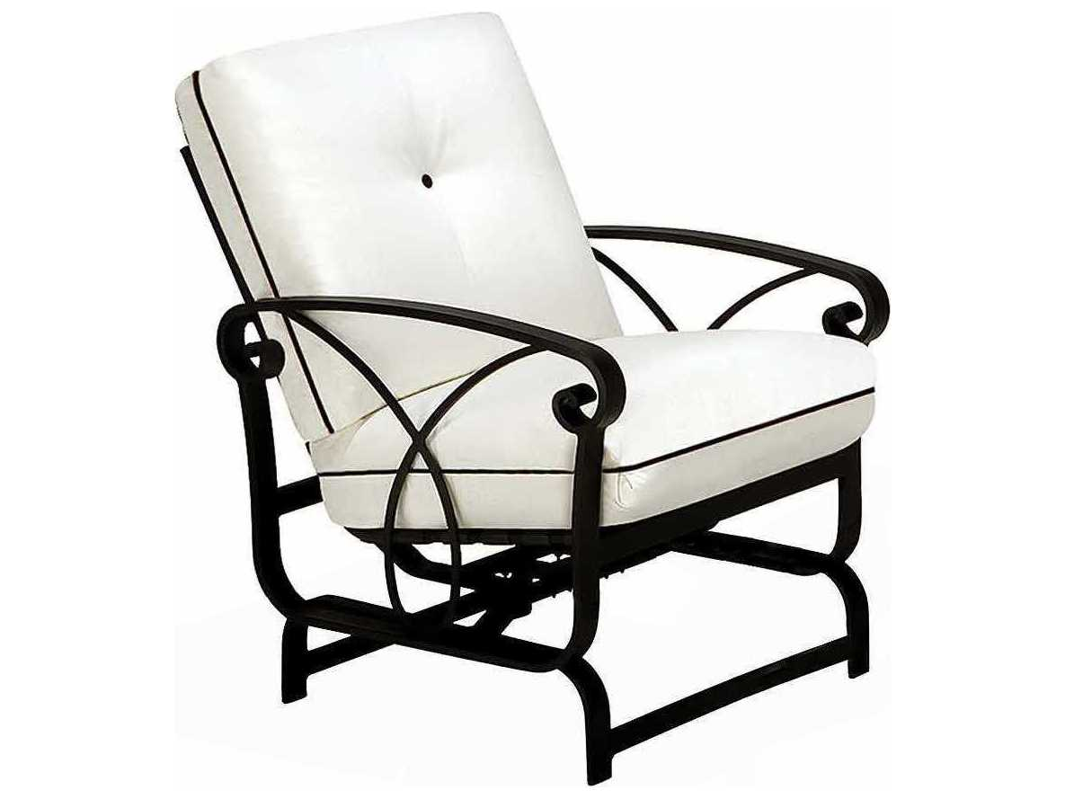 Winston Palazzo Cushion Cast Aluminum Arm Spring Lounge