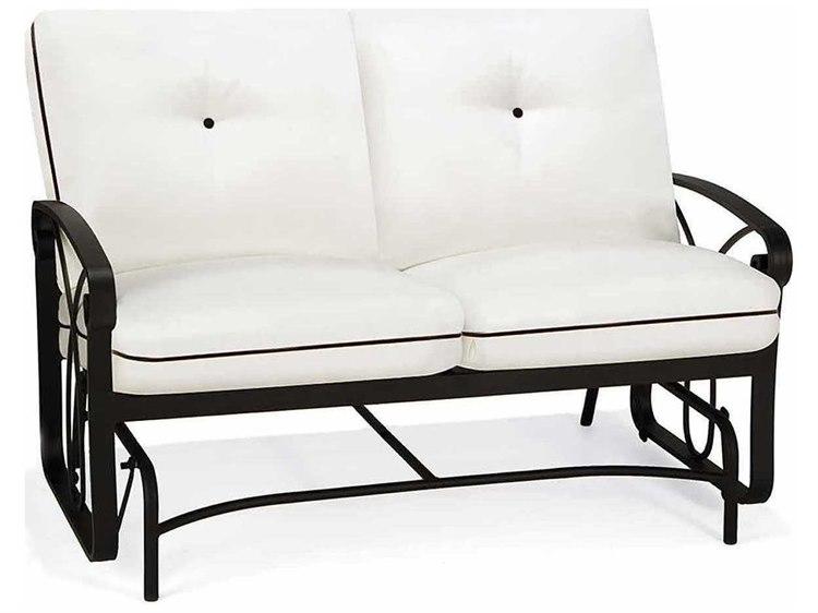 glider sonoma loveseat cushions presidio patio outdoor outdoorstm