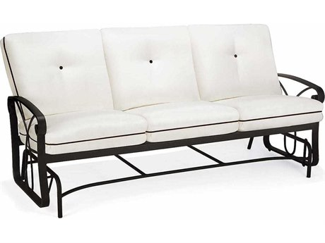 Cushion Cast Aluminum Sofa - Glider