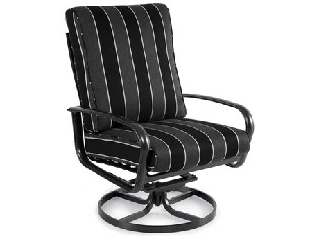 Winston Savoy Cushion Aluminum Arm Ultra Swivel Tilt Lounge Chair