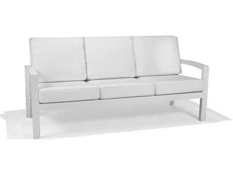 Winston Regency Deep Seating Aluminum Cushion Sofa