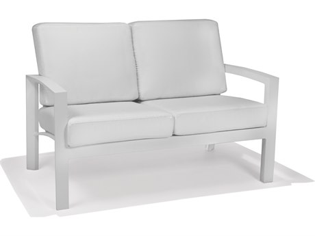 Winston Regency Deep Seating Aluminum Cushion Loveseat