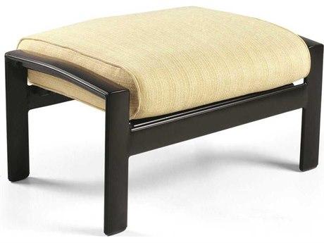 Winston Belvedere Cushion Aluminum Ottoman