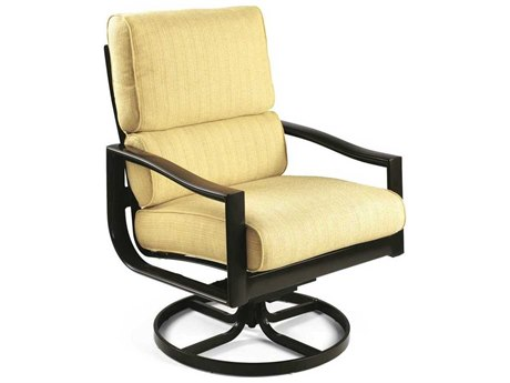 Winston Belvedere Cushion Aluminum Ultra Swivel Tilt Lounge Chair