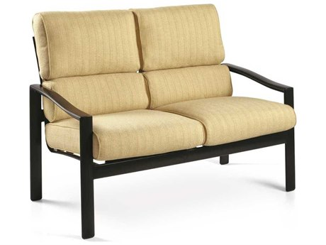 Winston Belvedere Cushion Aluminum Loveseat