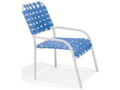 Winston Cortez Cross Weave Strap Dining Chair