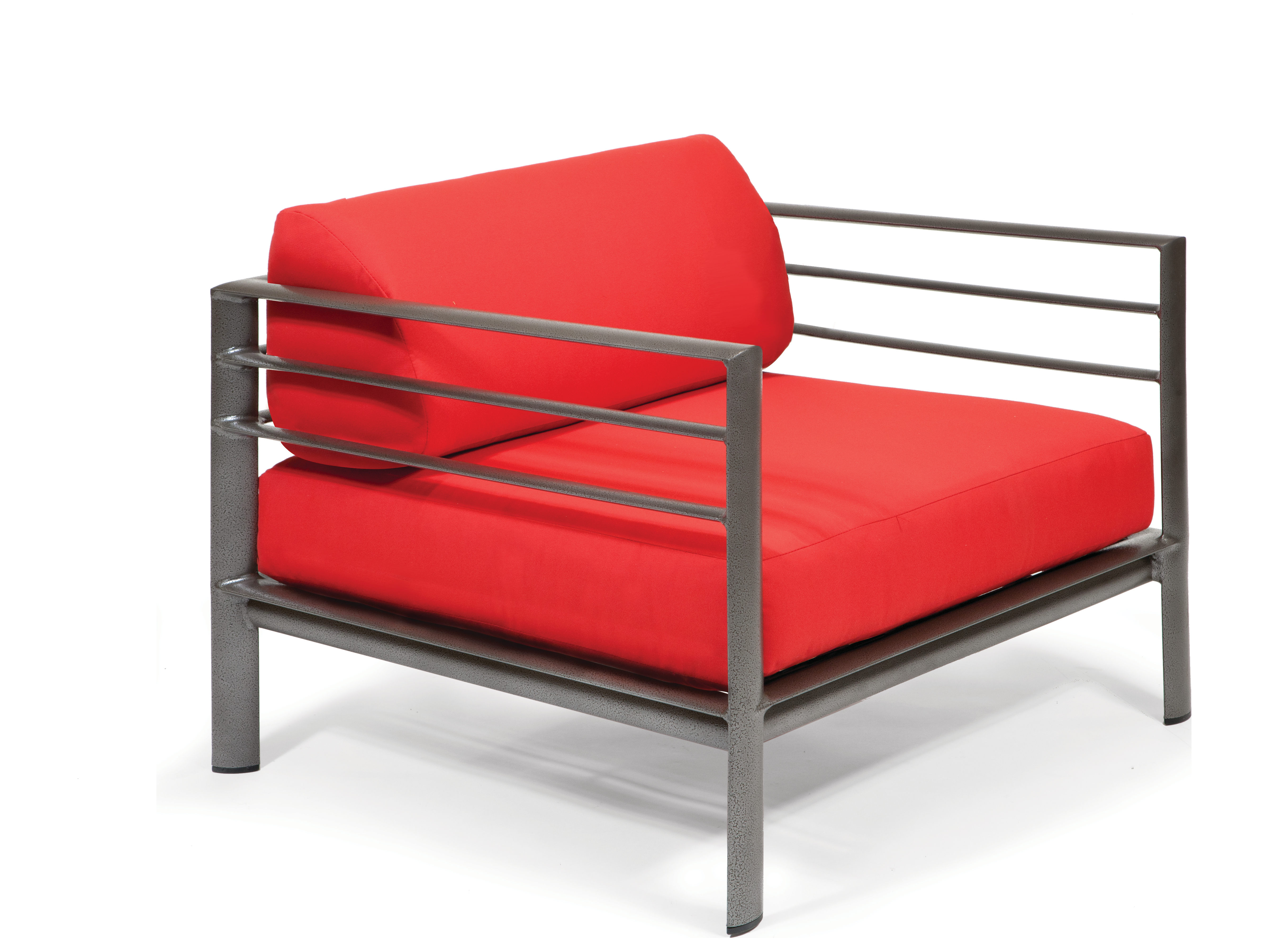 Winston Southern Cay Sling Aluminum Armless Chaise Lounge: Winston Southern Cay Modular Aluminum Lounge Chair With