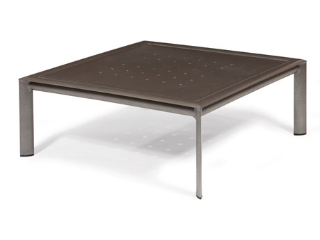Winston Southern Cay Modular Aluminum 35'' Square Coffee Table - Fully Welded