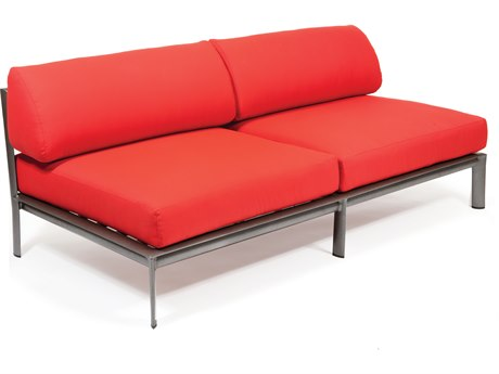 Winston Southern Cay Modular Aluminum Two Seat