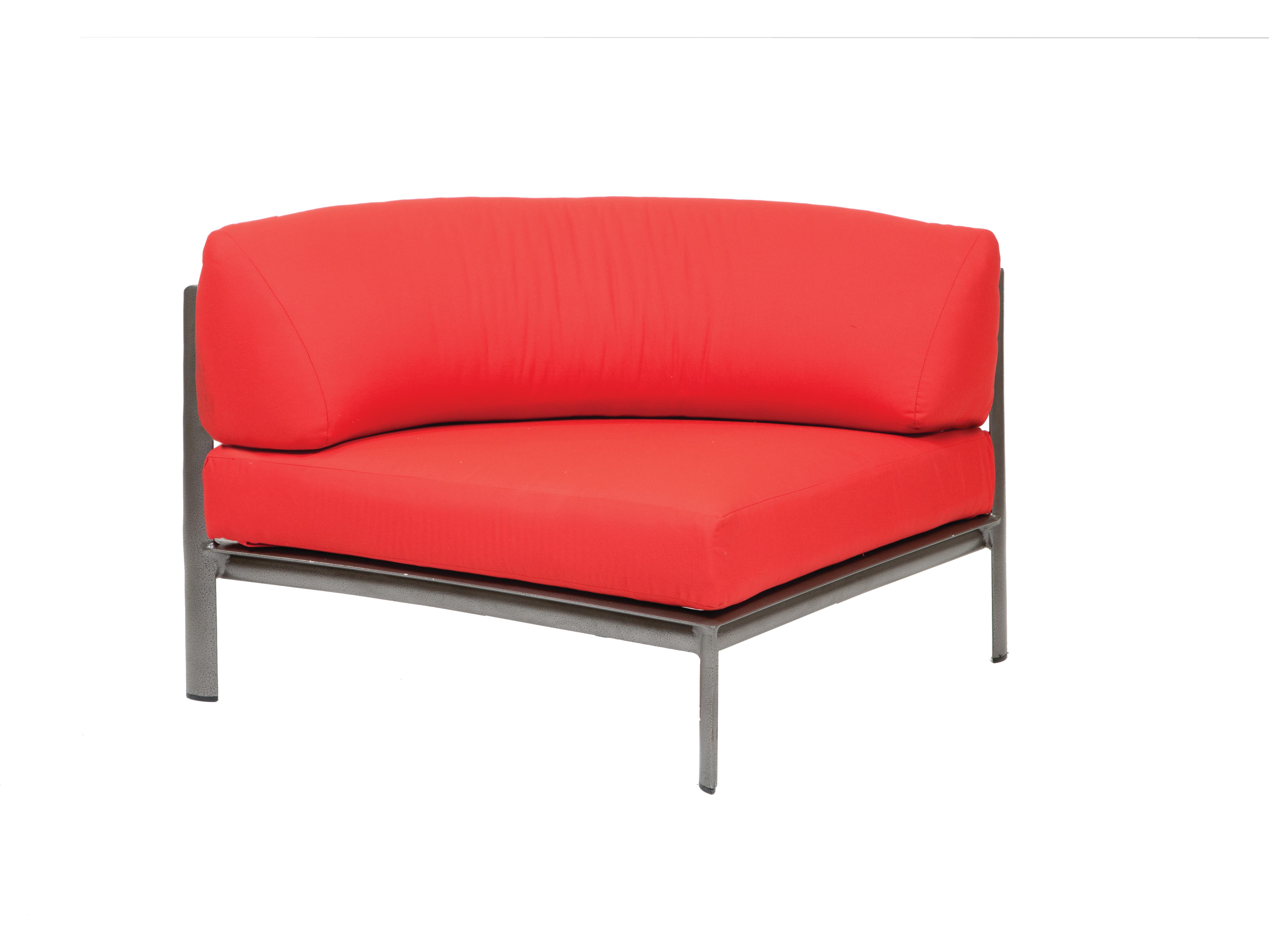 Winston Southern Cay Sling Aluminum Armless Chaise Lounge: Winston Southern Cay Modular Aluminum Lounge Set