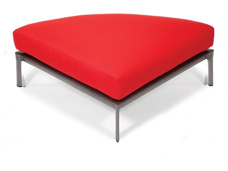 Winston Southern Cay Modular Aluminum Ottoman- CURVED PatioLiving