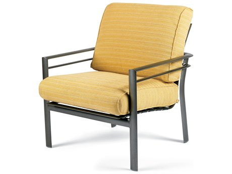 Winston Southern Cay Cushion Aluminum Arm Lounge Chair PatioLiving