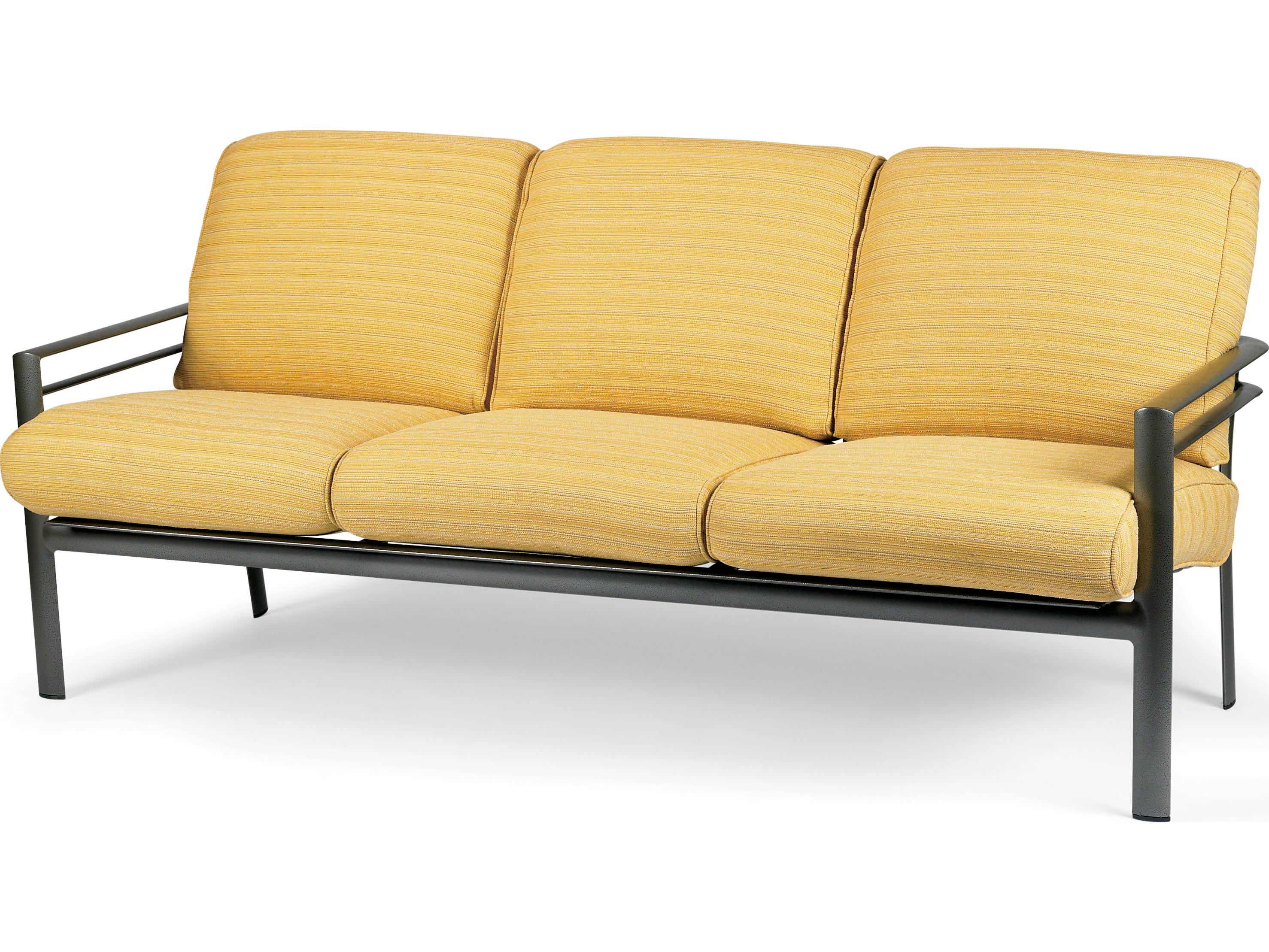 Winston Southern Cay Sling Aluminum Armless Chaise Lounge: Winston Southern Cay Cushion Aluminum Sofa