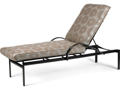 Winston Southern Cay Cushion Aluminum Arm Chaise Lounge