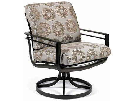 Winston Southern Cay Cushion Aluminum High Back Swivel Tilt Dining Chair