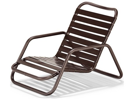 Winston Wayside Aluminum Metal Lounge Chair