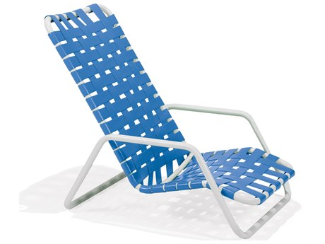 Winston Cortez Cross Weave Strap Lounge Chair