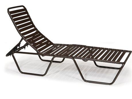 Winston Wayside Aluminum Metal Chaise Lounge