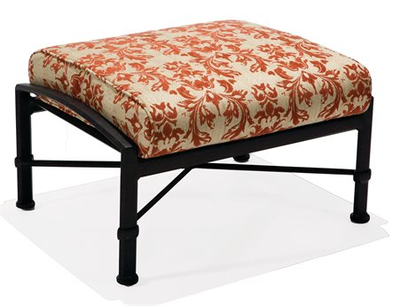 Winston Manor Deep Seating Cast Aluminum Cushion Ottoman