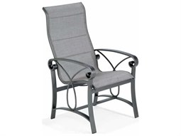 Winston Palazzo Sling Cast Aluminum Ultimate High Back Dining Chair