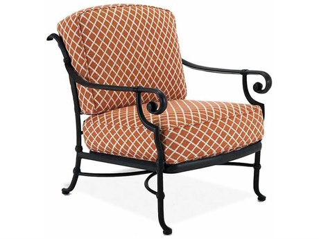 Winston Legacy Deep Seating Cast Aluminum Cushion Arm Lounge Chair