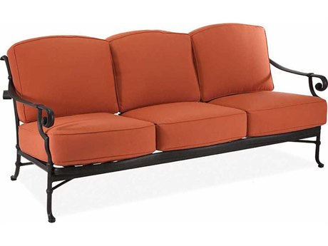 Winston Legacy Deep Seating Cast Aluminum Cushion Sofa WSM46003
