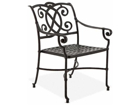 Winston Volterra Cast Aluminum Dining Chair with Cast Seat