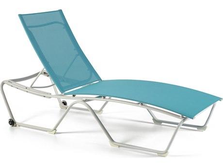 Winston Largo Sling Aluminum Chaise Lounge