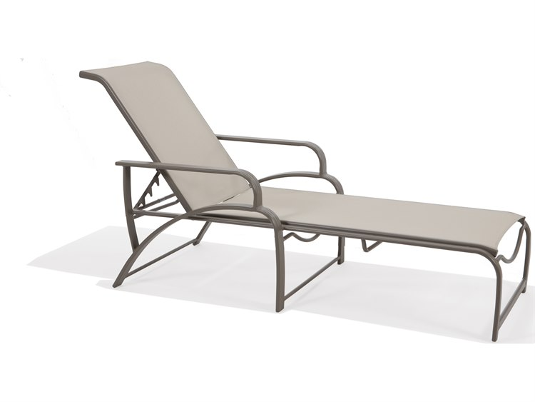 Winston Palazzo Sling Cast Aluminum Arm Chaise Lounge: Winston Evolution Sling Aluminum Arm Chaise Lounge