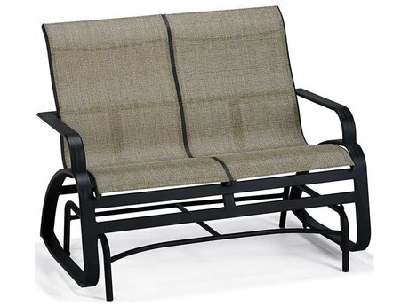 Winston Evolution Sling Aluminum Arm Loveseat Glider