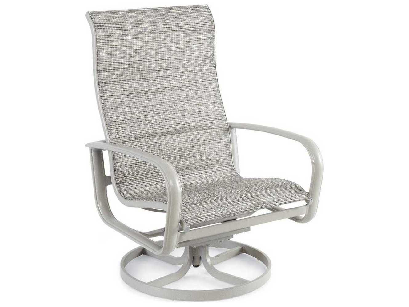 Winston Savoy Sling Aluminum Arm Swivel Tilt Lounge Chat