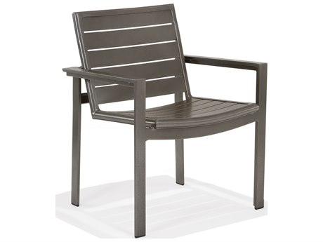 Winston Celano Slat Aluminum Metal Dining Chair