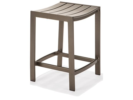 Winston Celano Slat Aluminum Metal Counter Stool