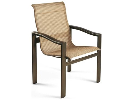 Winston Belvedere Sling Aluminum High Back Dining Chair