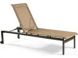 Winston southern cay woven aluminum stackable chaise for Belvedere chaise lounge