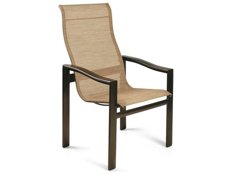 Winston Belvedere Sling Aluminum Ultimate High Back Dining Chair
