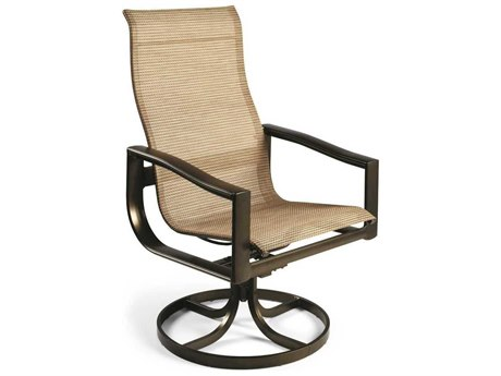 Winston Belvedere Sling Aluminum Ultimate High Back Swivel Tilt Chair